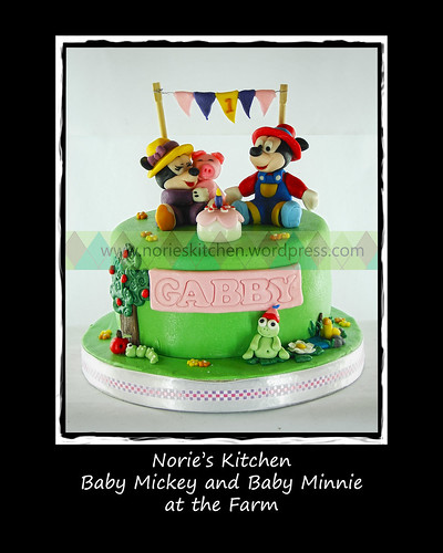 Norie's Kitchen - Baby Mickey and Minnie Farm by Norie's Kitchen