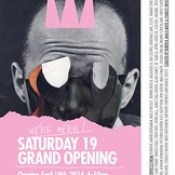 Today: INTERNATIONAL WEIRD COLLAGE SHOW @ The Invisible Dog Art Center, Brooklyn, NY, USA