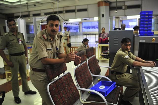 CISF Ambassador Mr. Vinay Kumar Rai at chennai airport, March 24, 2012