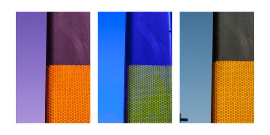 Photo School abstracts lamppost