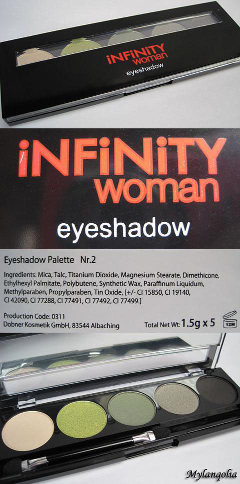 Infinity Woman Eyeshadow Palette1