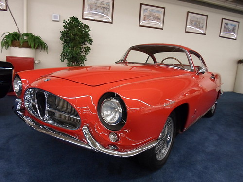 1954 Alfa Romeo 1900SS Ghia Coupe