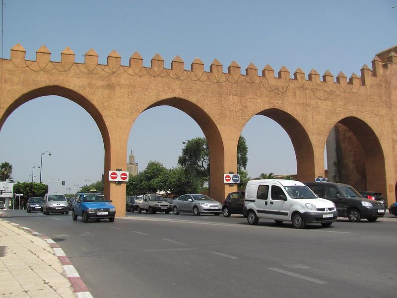 Through an Ancient Gate