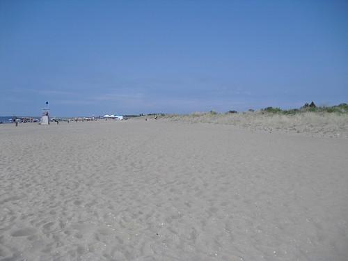 beach Ca Savio Cavallino in july