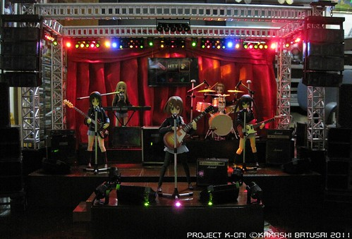 Project K-ON! Live Concert Stage Diorama by Kakashi Batusai - Figma -gundamph (24)