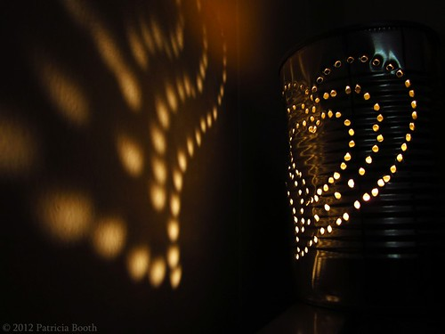 Day 231 Tin Can Lantern by pixygiggles