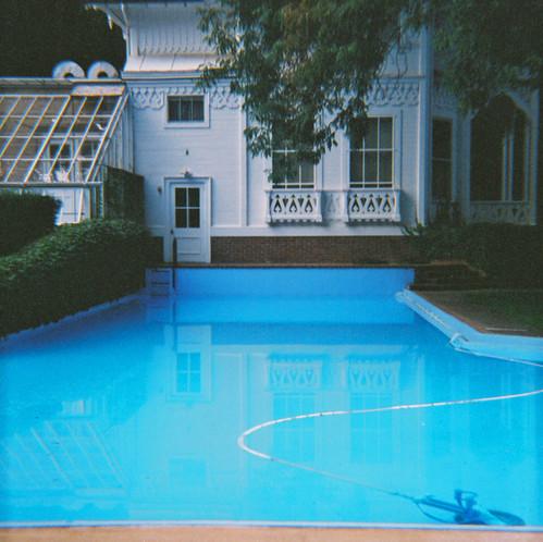 pool at the Rockefeller estate