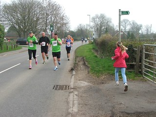 Half marathon passes cottage