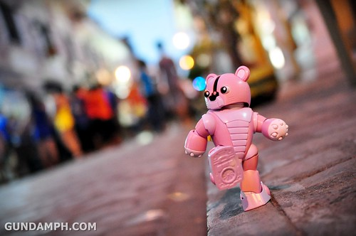 Pink Bearguy at Heritage Village Vigan 1st night