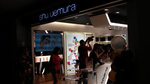 Shu Uemura Trinoma opening