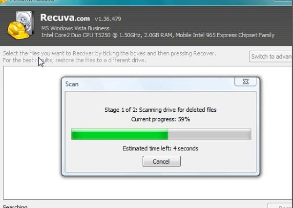 Recover Deleted file with Recuva | Royal Technologies