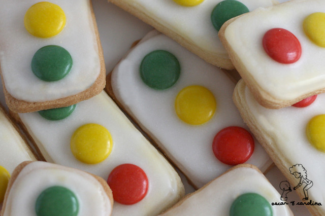galletas semaforo traffic light cookies