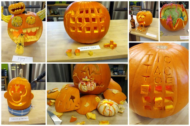 Pulse Pumpkin Carving Contest 2012