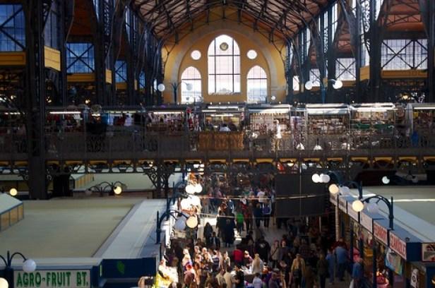 Будапештский рынок, Будапешт, Венгрия