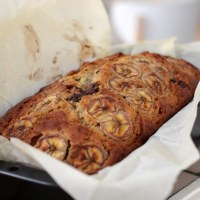 Banana and chocolate chip cake