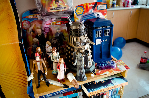Doctor Who Birthday Party