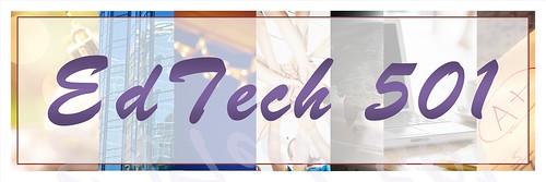 EdTech 501 Bumper Sticker