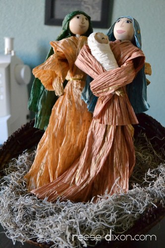 Paper Twist Nativity
