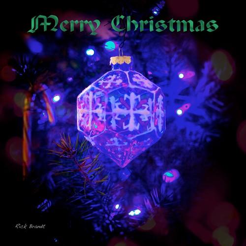 Christmas card 2011 by Rick Brandt
