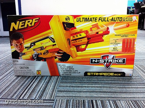 NERF Sale 50% Off Stampede Raider Recon Unboxing Review (1)