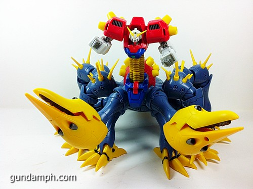 MSIA Devil Gundam First Form Unboxing Review Huge (85)
