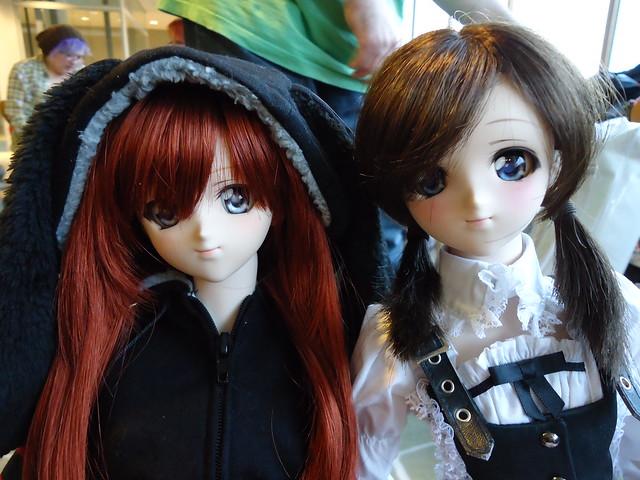 d.ark's Volks DD's Natsuki & Moe