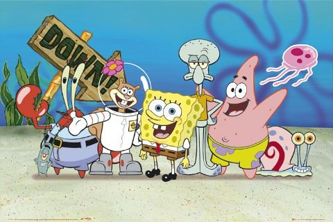 spongebob-squarepants-and-the-gang