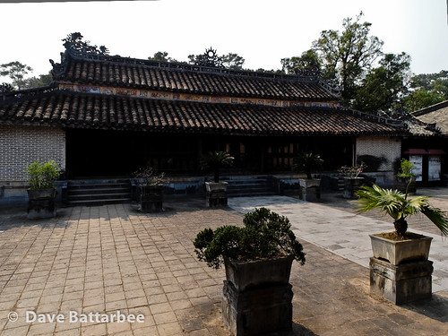 The Palace Complex at Tu Duc's Tomb.