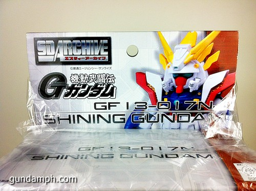 SD Archive Shining Gundam Unboxing Review (6)