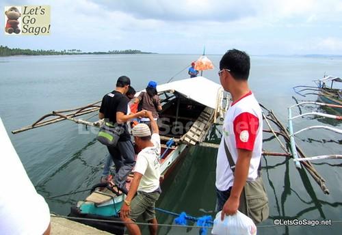 The Lavezares Boat Ride to Biri Island