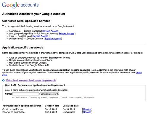 Google 2-Step Verification