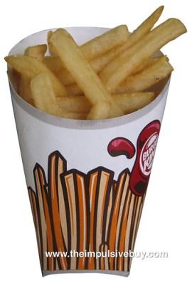 New Burger King Fries (2011)