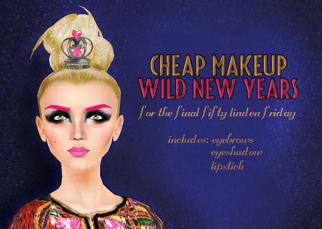 New Years Makeup for Fifty Linden Friday