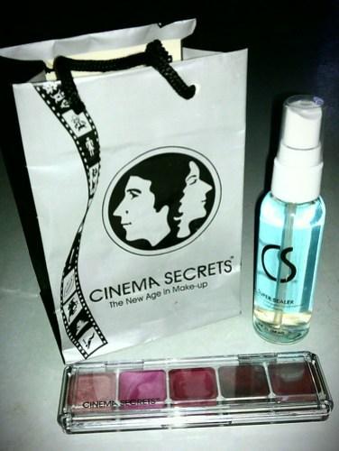 Cinema Secrets Gorgeous Goodies Giveaway