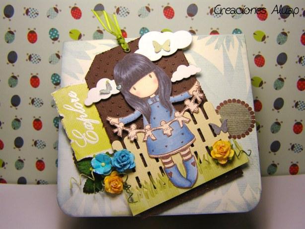 caja origami gorjuss