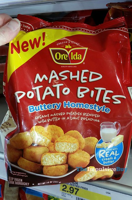 Ore-Ida Buttery Homestyle Mashed Potato Bites