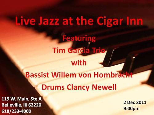 Tim Garcia Trio @ Cigar Inn Jazz Club 2 Dec 11[1]