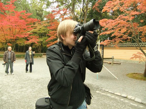 Photographing in Kyoto