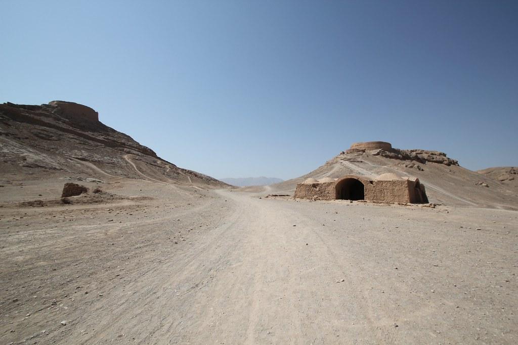 Dakhmeh in Yazd