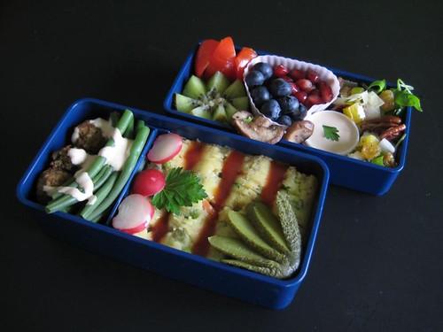 Russian Salad Bento #170