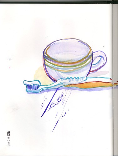 brush and cup by jmignault