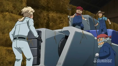 Gundam AGE Episode 16 The Gundam in the Stable Youtube Gundam PH (20)