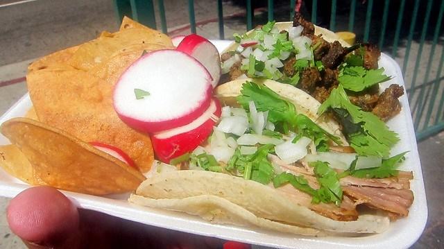 taco plate lupita's taco truck