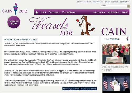 Weasels for Cain