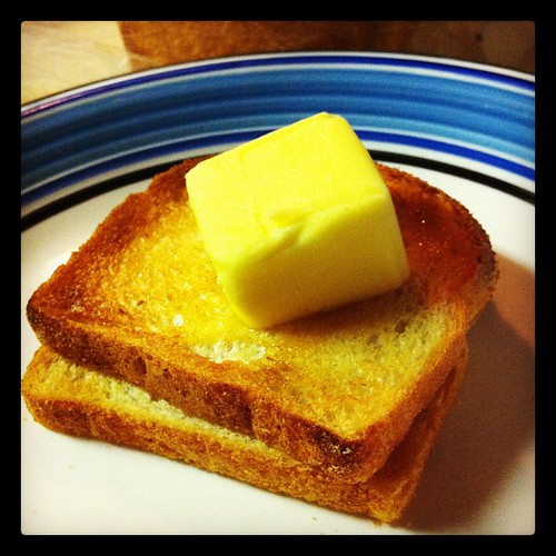 Some say I use too much butter. But look, <a href=