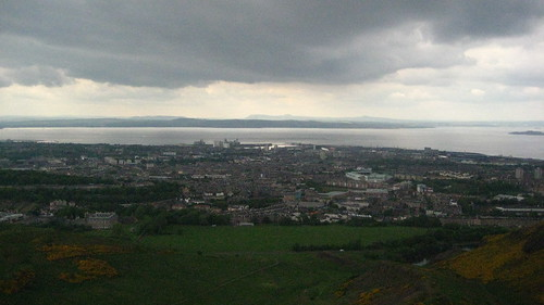A look out from Arthur's Seat