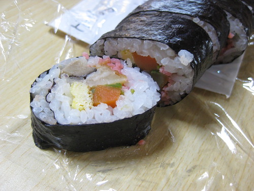delicious homemade sushi
