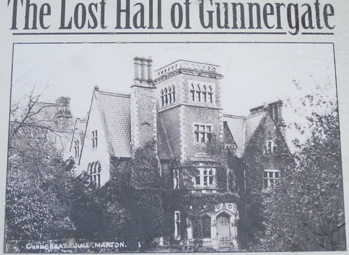 Gunnergate Hall, Fairy Dell, Marton