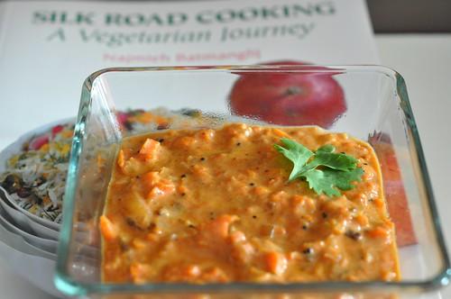 Indische Karotten Joghurt Suppe