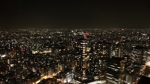 東京都庁からの新宿の夜景